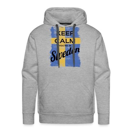 Keep Calm In Sweden - Men's Premium Hoodie