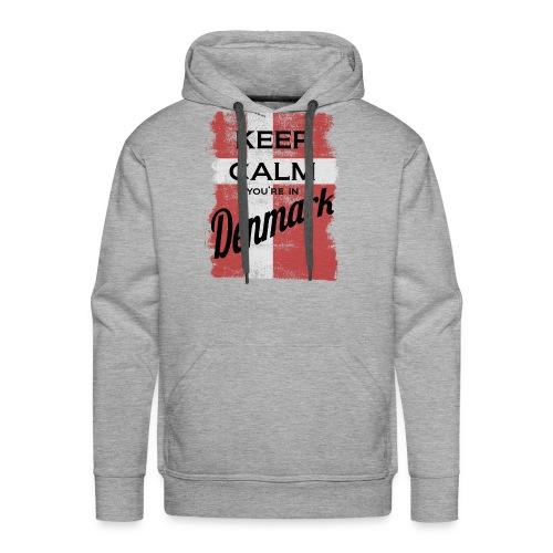 Keep Calm In Denmark - Men's Premium Hoodie