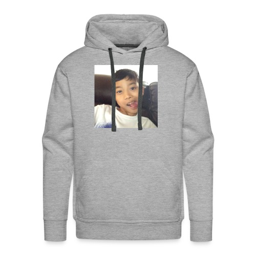 Jahziel Ona Fan Shirt (Face) - Men's Premium Hoodie