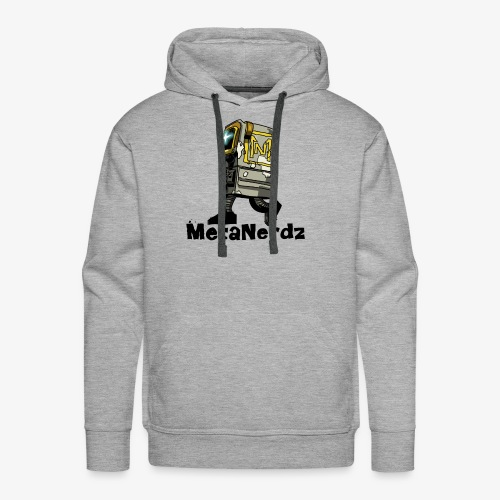 Gonk MetaNerdz Black Words - Men's Premium Hoodie