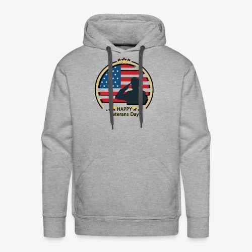 Happy Veterans Day - Men's Premium Hoodie