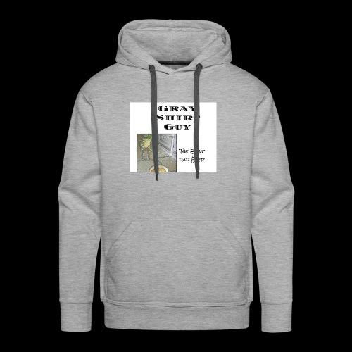 Official gray shirt guys shirt - Men's Premium Hoodie