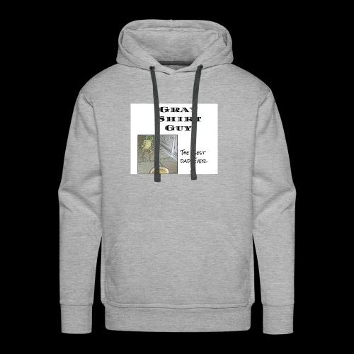 Official gray shirt guys shirt - Men's Premium Hoodie
