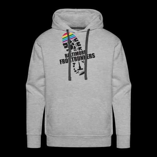 Baltimore Frontrunners Black - Men's Premium Hoodie