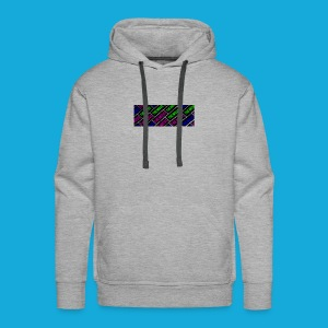 The Move logo box silhouette - Men's Premium Hoodie