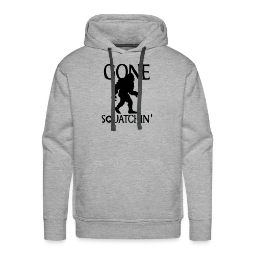 Gone Squatchin Hide and Seek Bigfoot Yeti - Men's Premium Hoodie