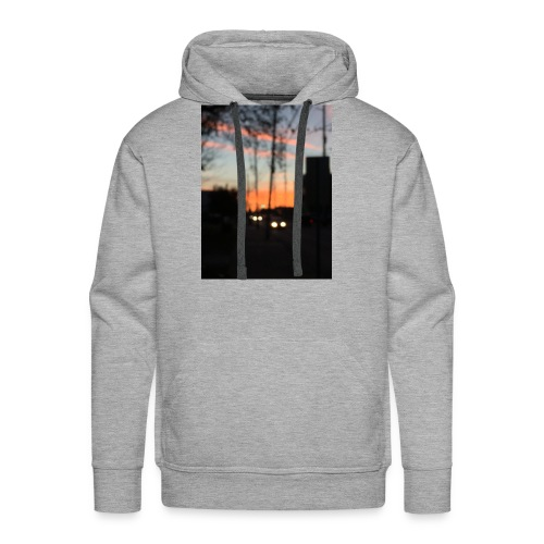 A blurry sunset - Men's Premium Hoodie
