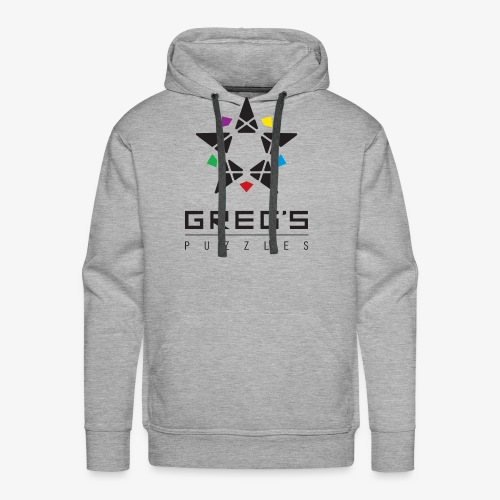 Greg's Puzzles Logo - Men's Premium Hoodie
