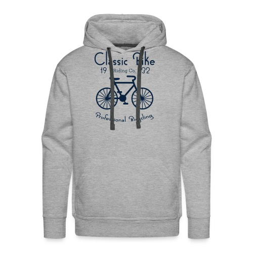 Classic Bike Professional Bicycling - Men's Premium Hoodie