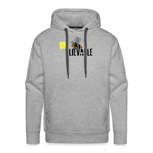 Unbee lievable Bee Design - Men's Premium Hoodie
