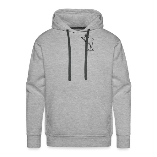 Pocket Dolphin Awesome Gift Idea for Dolphin Lover - Men's Premium Hoodie