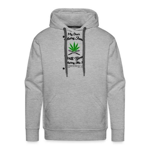 Mary Jane Weed 420 Marijuana - Men's Premium Hoodie