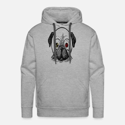 dog t-shirt - Men's Premium Hoodie
