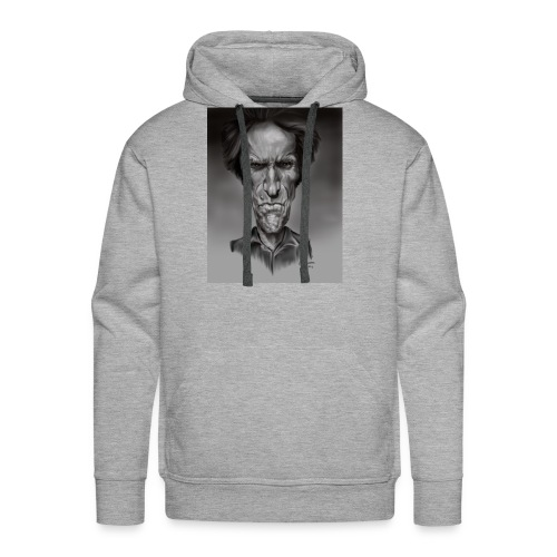 Caricature of Dirty Harry - Men's Premium Hoodie