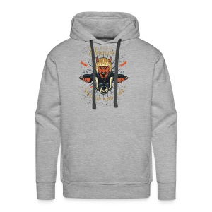 Demon Vintage Motorcycle - Men's Premium Hoodie