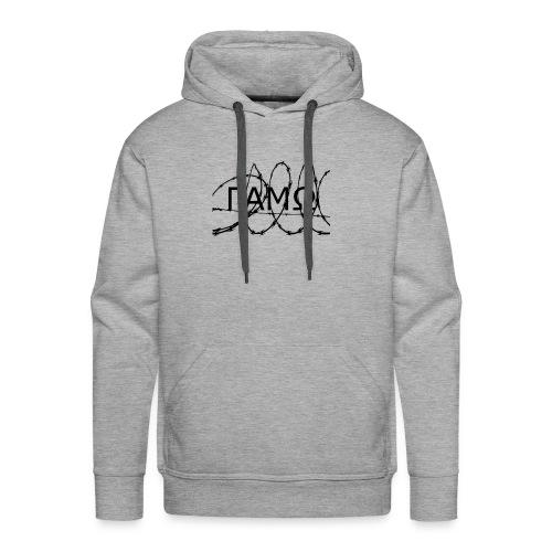 Barbed Wire box logo GAMO - Men's Premium Hoodie