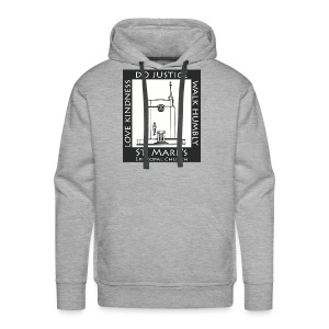 Black St. Mark's Logo - Men's Premium Hoodie