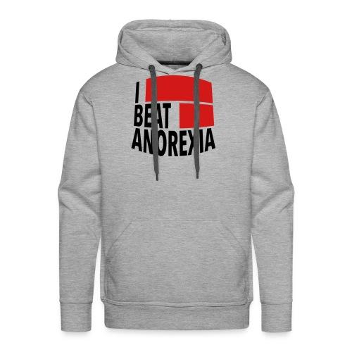 I Beat Anorexia - Men's Premium Hoodie