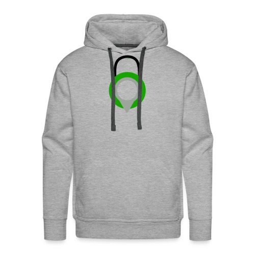 Lock Logo Design - Men's Premium Hoodie