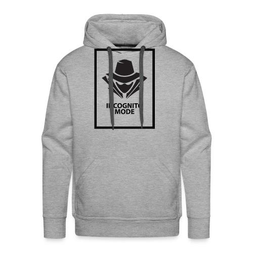 Incognito Mode (Black) - Men's Premium Hoodie