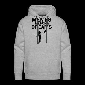Memes Before Dreams - Men's Premium Hoodie