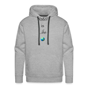IMG 1041Water is Life - Men's Premium Hoodie