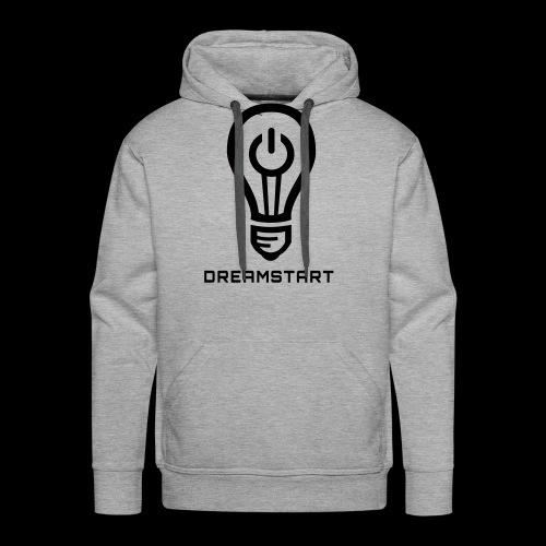 Dreamstart Logo (Black) - Men's Premium Hoodie