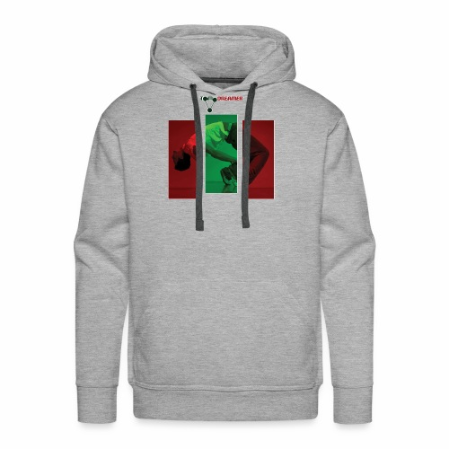 Face reality and bend. - Men's Premium Hoodie