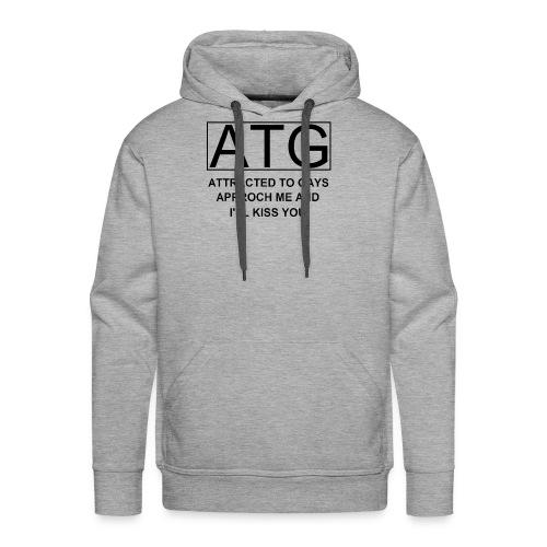 ATG Attracted to gays - Men's Premium Hoodie