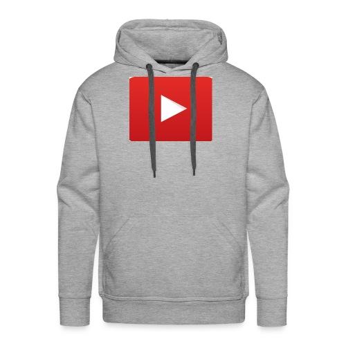 Youtube Logo! - Men's Premium Hoodie