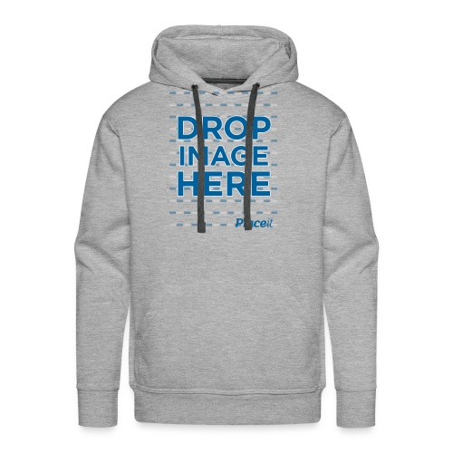 DROP IMAGE HERE - Placeit Design - Men's Premium Hoodie