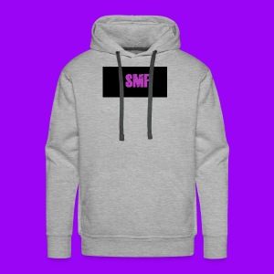 SMF purple muddy - Men's Premium Hoodie