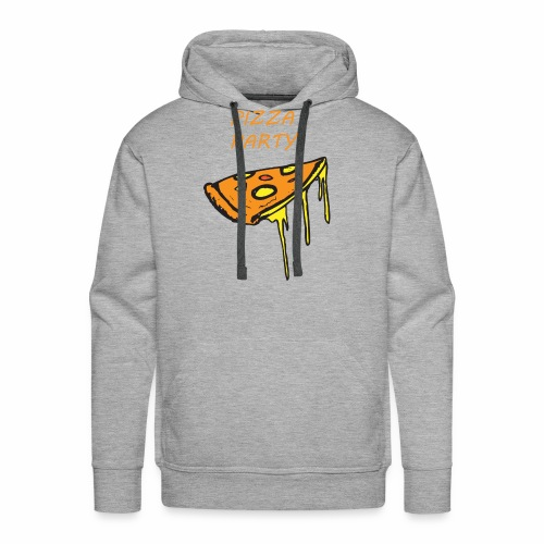 Pizza Party - Men's Premium Hoodie