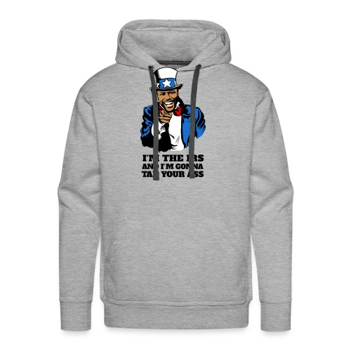 Floyd Mayweather - Im The IRS - Uncle Sam (Light) - Men's Premium Hoodie