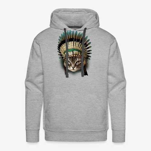 the chief cat - Men's Premium Hoodie