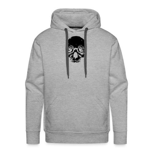 Skull rose - Men's Premium Hoodie