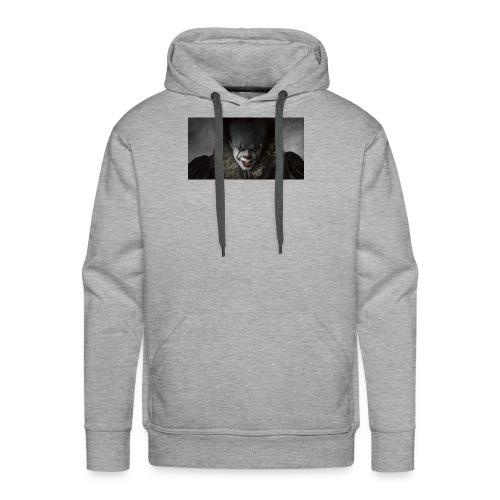 IT movie Pennywise tshirt - Men's Premium Hoodie