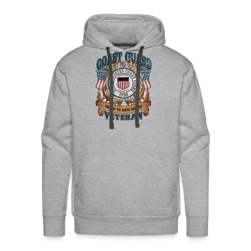 US COAST GUARD PROUD TO HAVE SERVED VETERAN - Men's Premium Hoodie