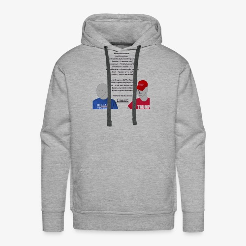 Character Who Is Not Played By A Person Meme - Men's Premium Hoodie