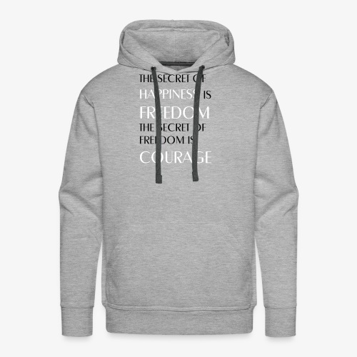 Sparrow Wear - Freedom Quote - Men's Premium Hoodie