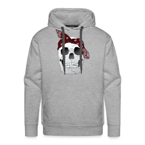 RIP Tu.pac [In Red] - Men's Premium Hoodie