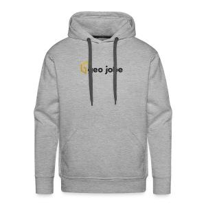 GEO Jobe Corp Logo - Black Text - Men's Premium Hoodie