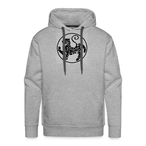 Shotokan-Tiger_black - Men's Premium Hoodie