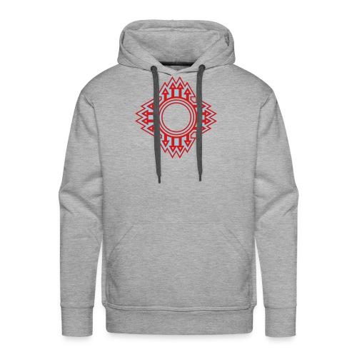 New Mexico Zia Symbol Streetwear - Men's Premium Hoodie