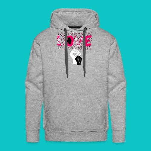 tshirt_1_love_wo_black_2_4 - Men's Premium Hoodie
