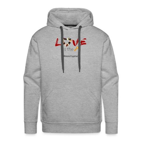 Love Is The Key - Men's Premium Hoodie