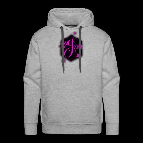 GilJayy Badge (Pink) - Men's Premium Hoodie