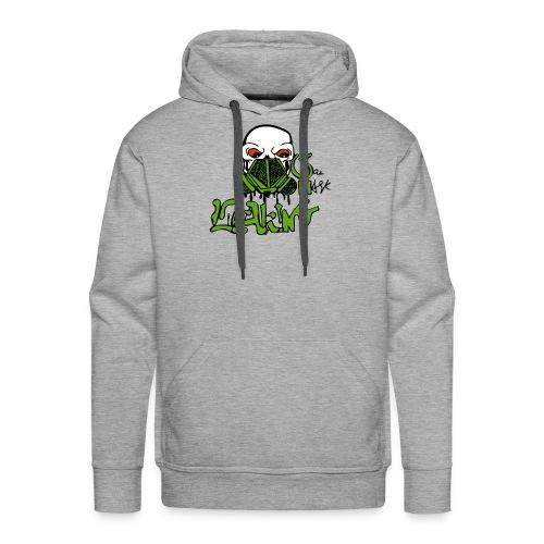 Leaking Gas Mask - Men's Premium Hoodie