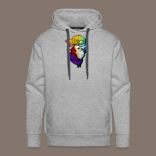 Stijmunkey Logo - Men's Premium Hoodie