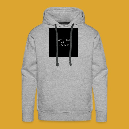Mind Filled with Sounds - Men's Premium Hoodie